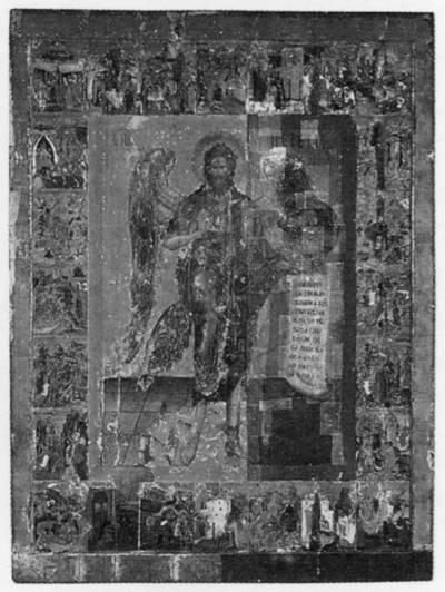 Иоанн Предтеча — Ангел Пустыни, с житием в 24 клеймах