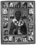 Святитель Николай Чудотворец, с житием в 18 клеймах