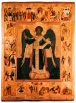 Архангел Михаил, с деяниями в 20 клеймах