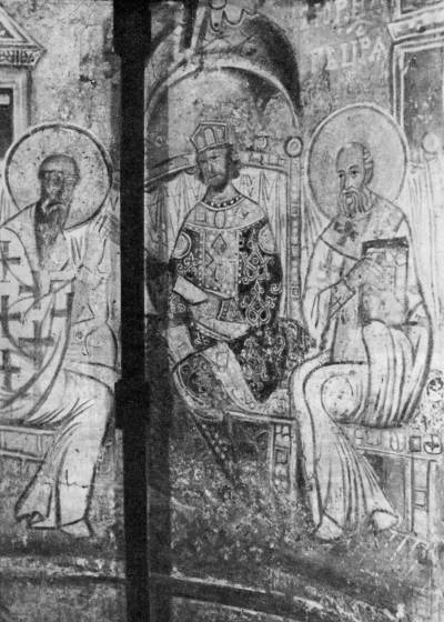 Святой Кирилл Александрийский учит царя