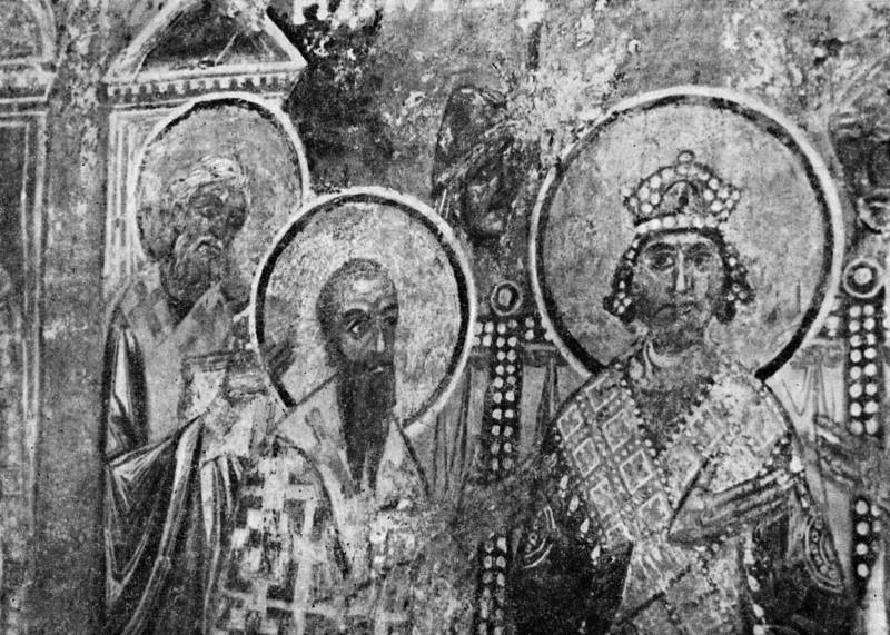 Святой Кирилл Александрийский учит в Соборе