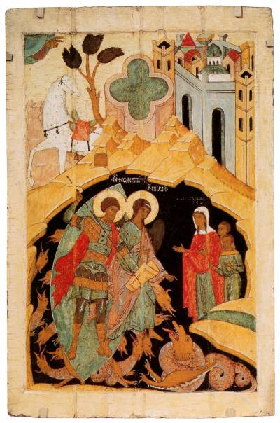 Чудо святого Феодора Тирона о змие