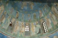 Роспись барабана купола
