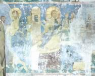 Исцеление кровоточивой жены (фрагмент). Христос в доме фарисея Симона