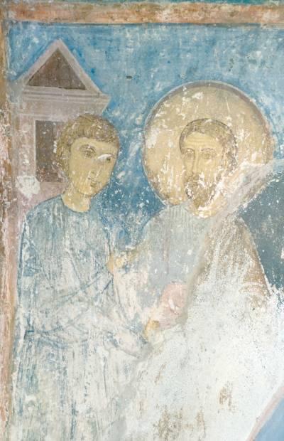 Деталь композиции из цикла апостольских деяний
