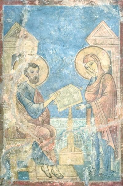 Иоаким и Анна толкуют книгу пророка Исаии
