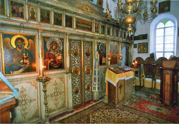 Иконостас Успенского храма (скит Ксилургу)