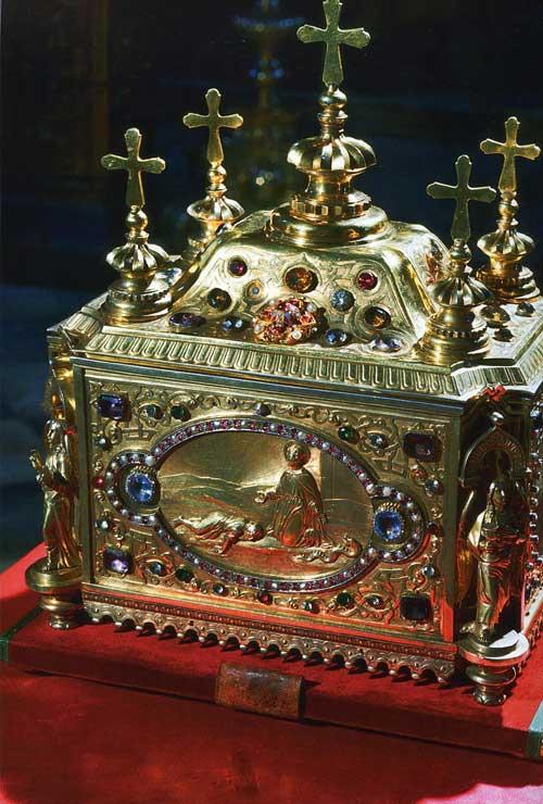 Ковчег с цельбоносной главой вмч. Пантелеимона(Свято-Пантелеимоновский собор)