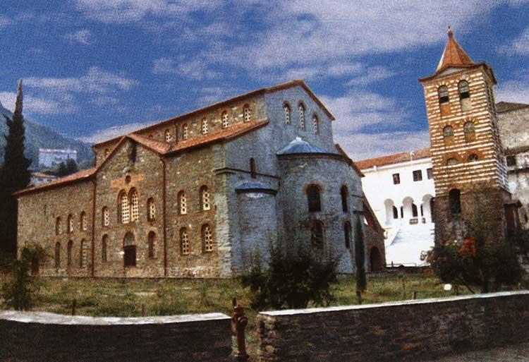 Успенский собор Протата. Святая гора Афон
