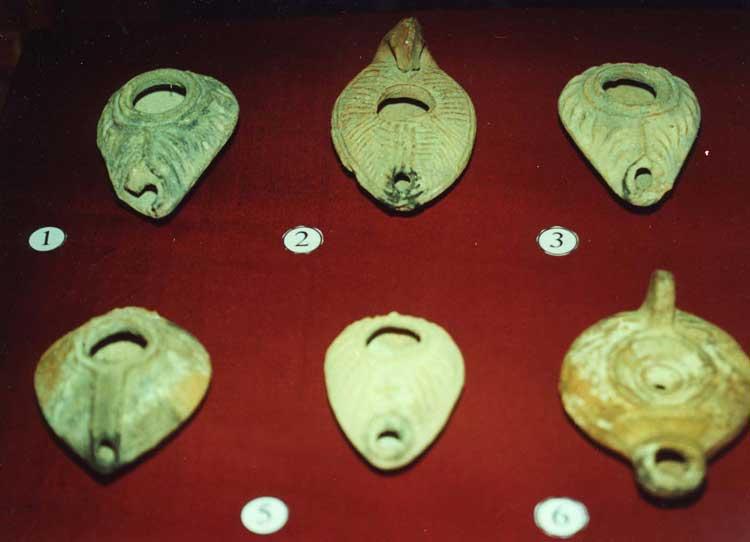 Раннехристианские светильники