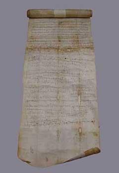 Грамота 15 августа 1169г. от прота Иоанна на имя о.Лаврентия, игумена монастыря Ксилургу