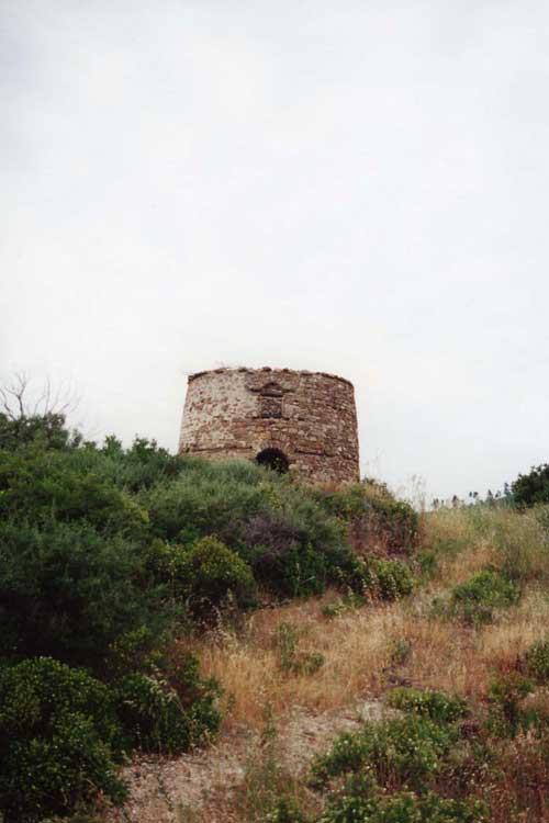 Византийская пирга. Хрумитса. Афон