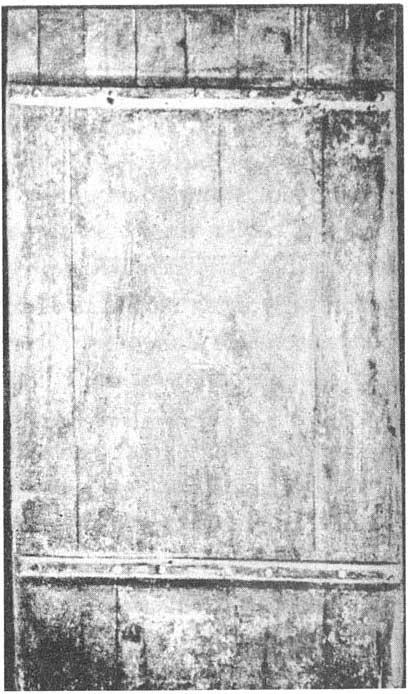 Накладные шпоны XII в. на кованых гвоздях