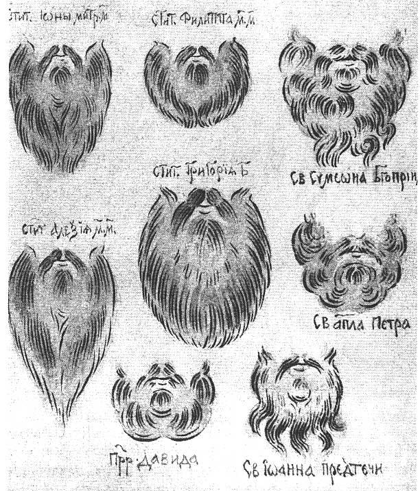 Разделка бороды