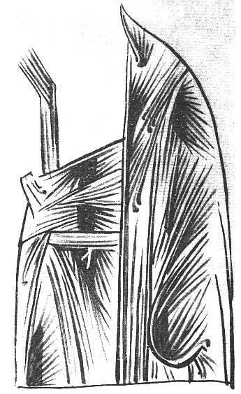 Одежды Богомладенца, расписанные ассистом