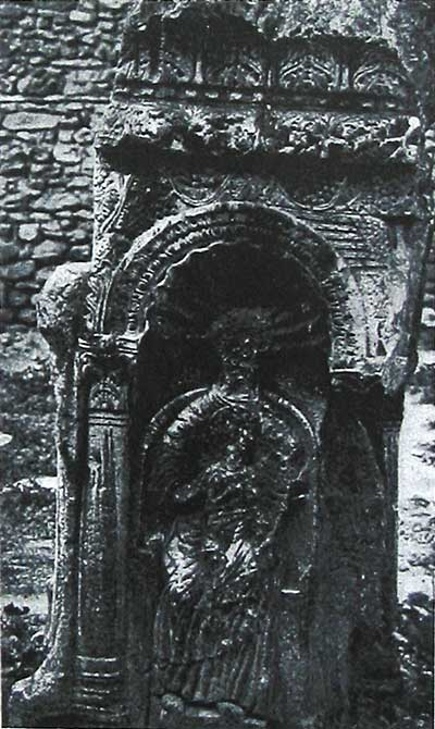 Образ Божией Матери с Младенцем на Солунском амвоне
