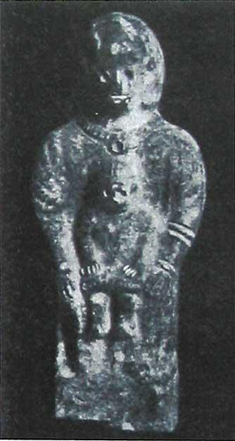 Глиняная статуйка