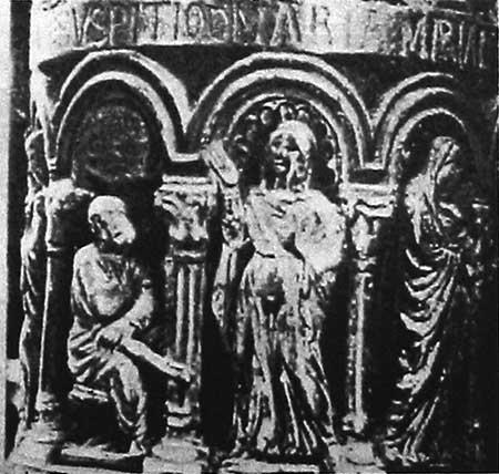 Богоматерь перед Иосифом