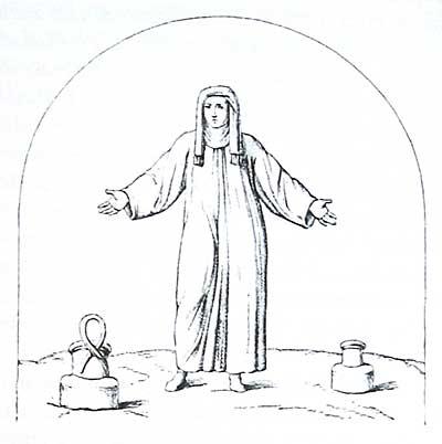 Фигура диакониссы