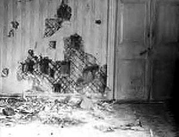Подвал ипатьевского дома