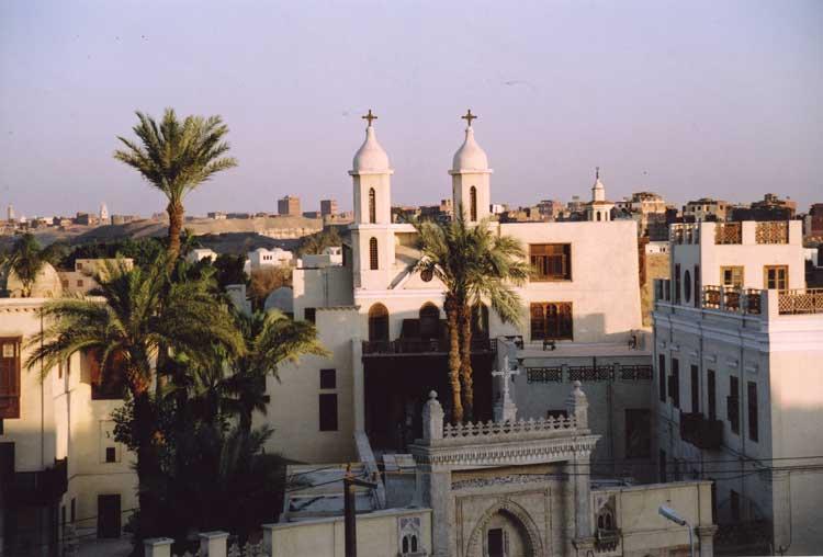 Общий вид храма Эль-Моаллака
