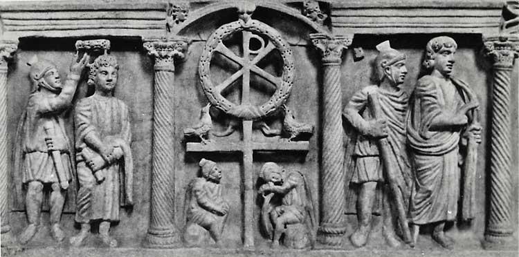 Саркофаг из Латеранского собора