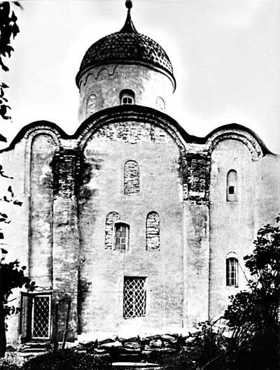 Северный фасад церкви св.Георгия (1928г.)
