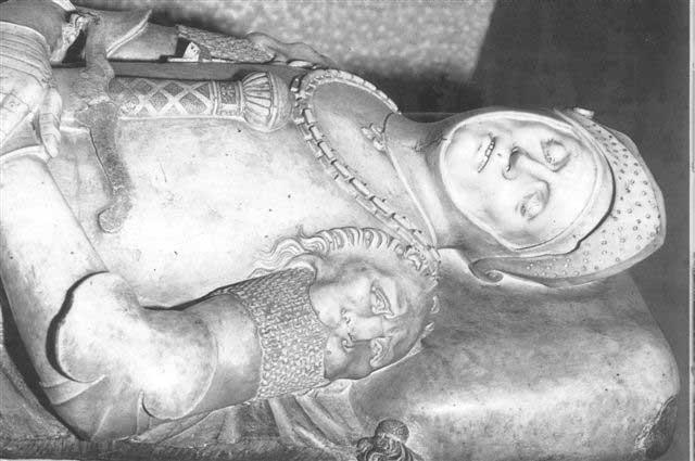 Надгробная статуя Гуидарелло Гуидарелли Фрагмент