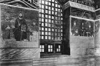 Мозаики в южной галерее собора Св. Софии