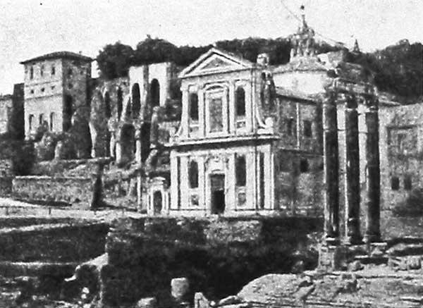Вид церкви Santa Maria Liberatrice