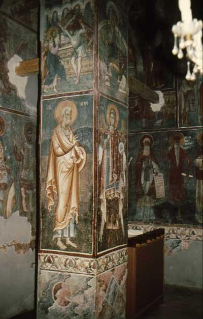 Frescoes of the Church of St.Nikita
