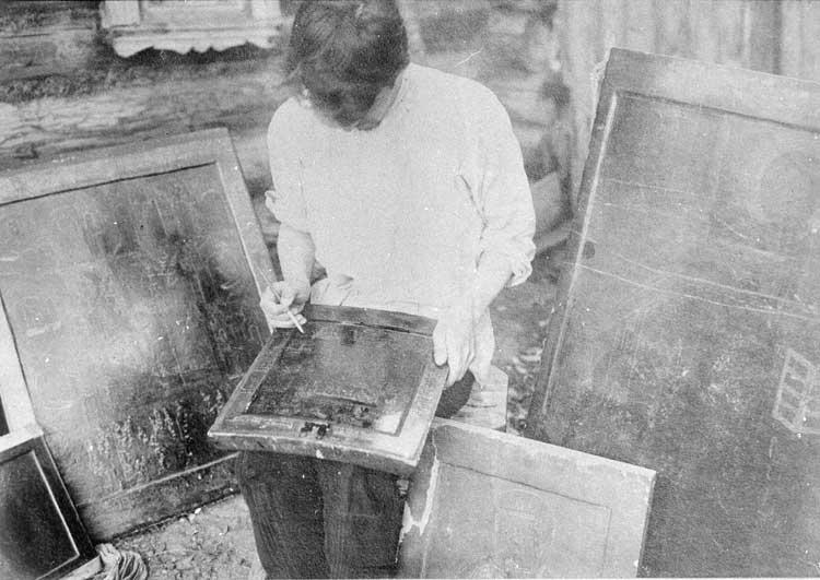 Мстерский иконописец-«старинщик»