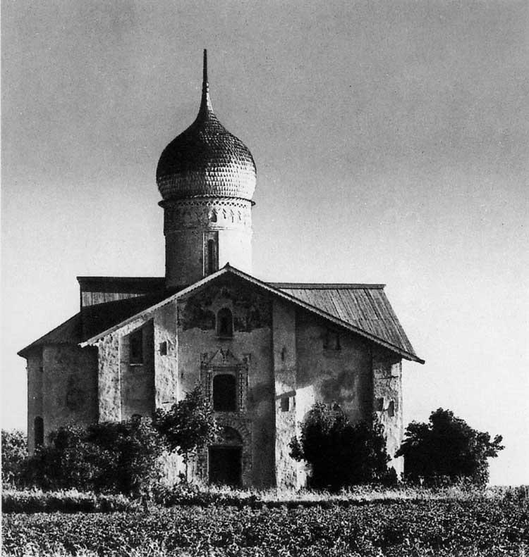 Церковь Благовещения в Аркажах, Новгород. 1179