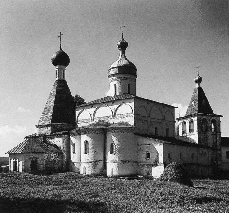 Собор Рождества Богородицы, Ферапонтов монастырь, 1490. Вид с востока
