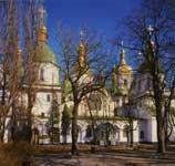 Собор св. Софии, Киев. Вид с запада