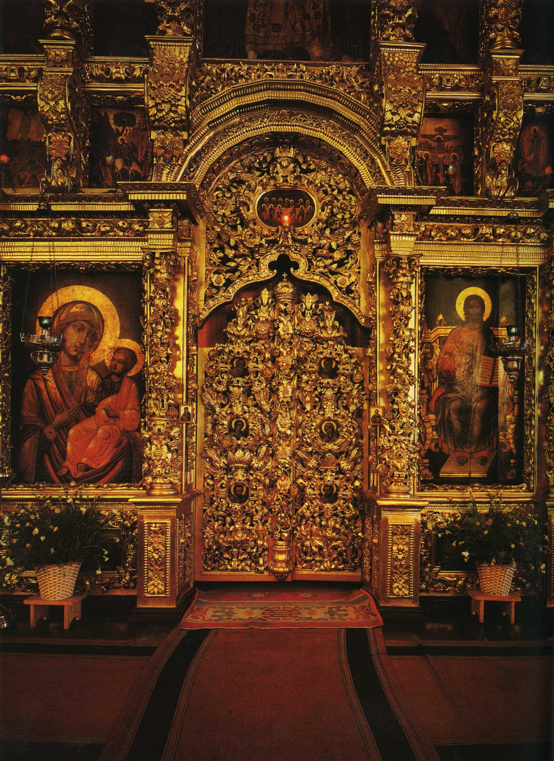Церковь преподобного Сергия Радонежского. Иконостас. Царские врата