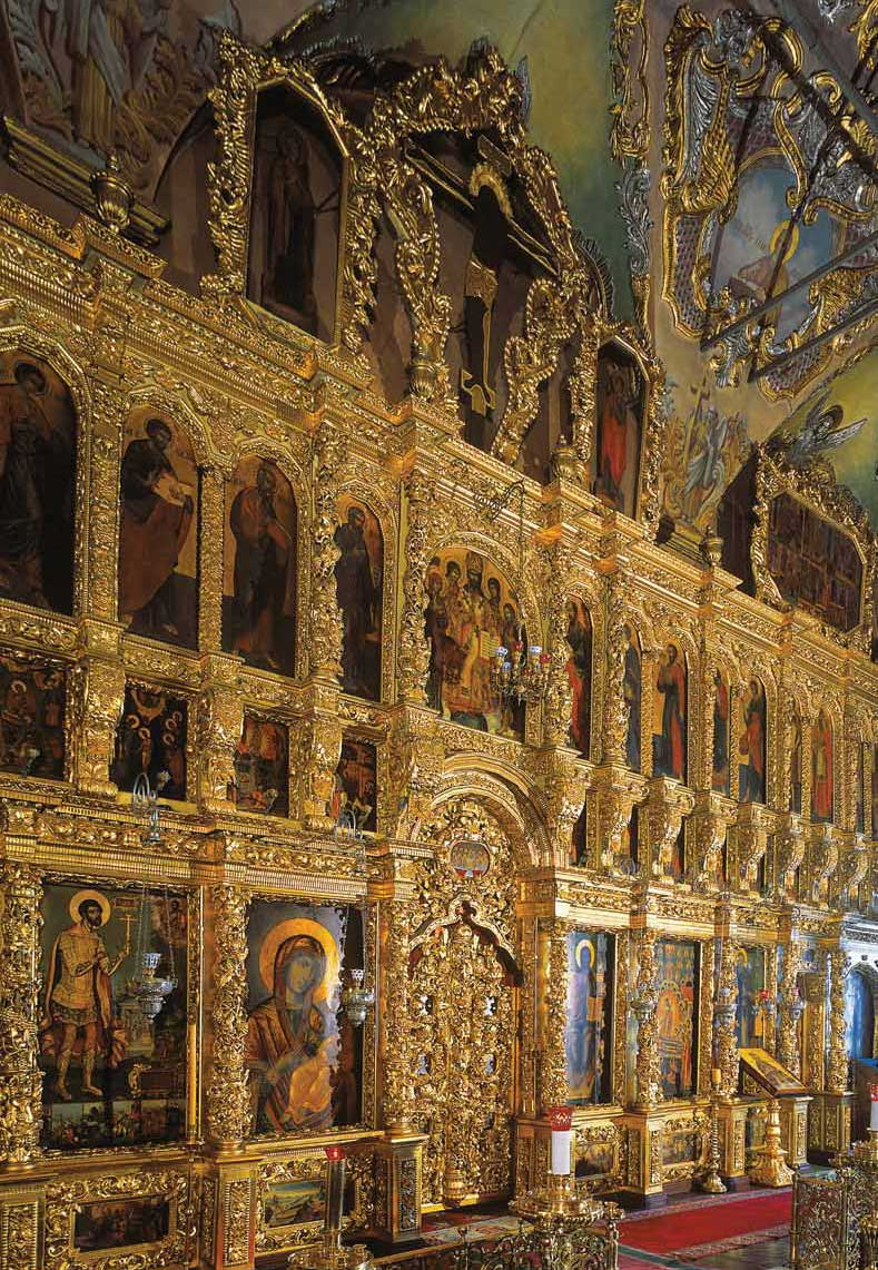 Иконостас церкви во имя преподобного Сергия Радонежского. 1948Фотография. 2013