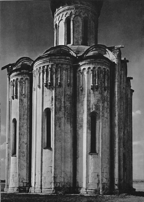 Церковь Покрова на Нерли. Восточный фасад