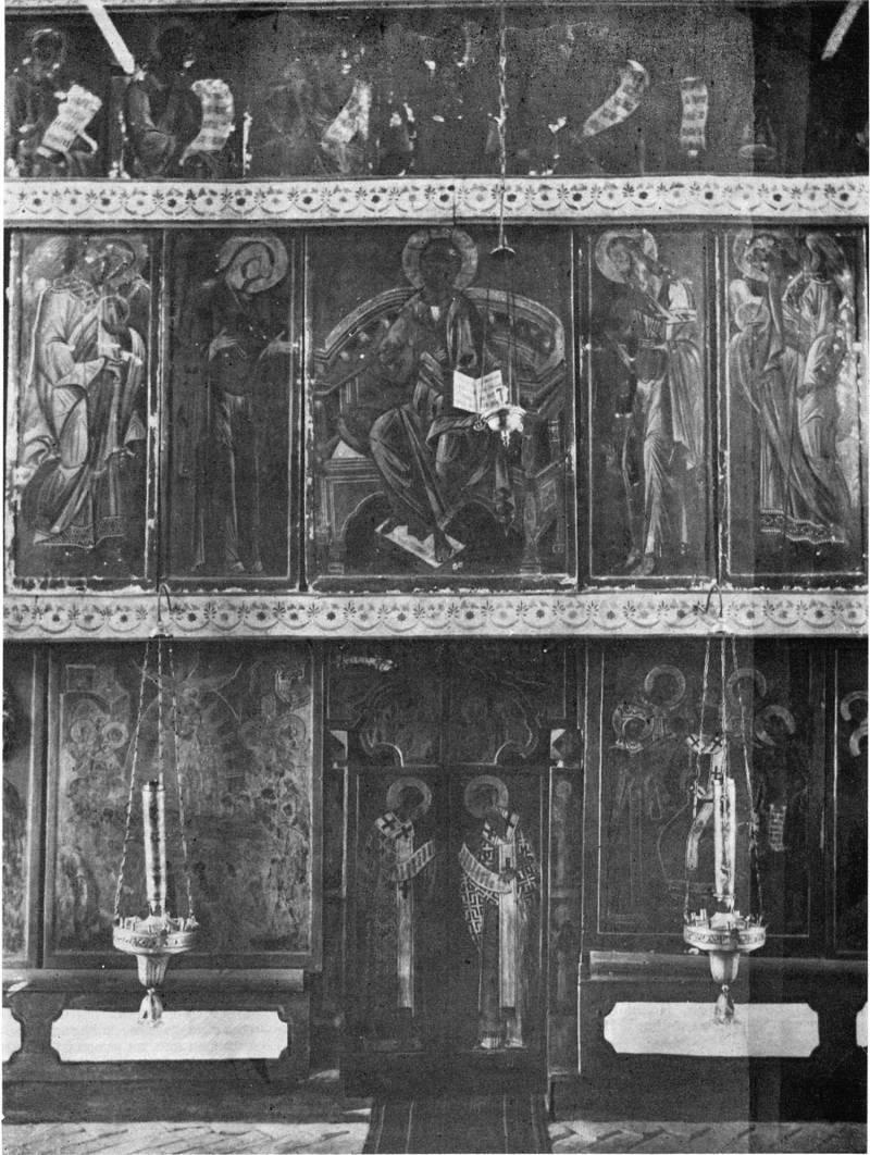 Иконостас церкви Двенадцати апостолов в Новгороде