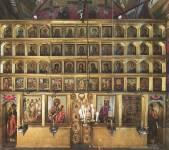 Иконостас Похвальского придела Успенского собора Московского Кремля